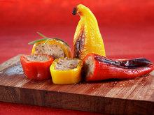 Kjøttfylt søt paprika