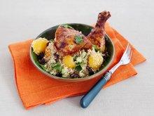 Marokkansk crispy kylling