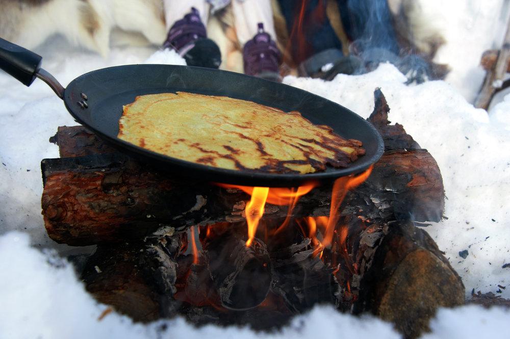 Bilderesultat for mat ute snø