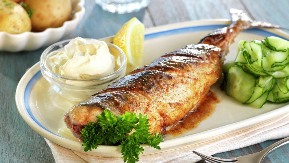 Stekt makrell