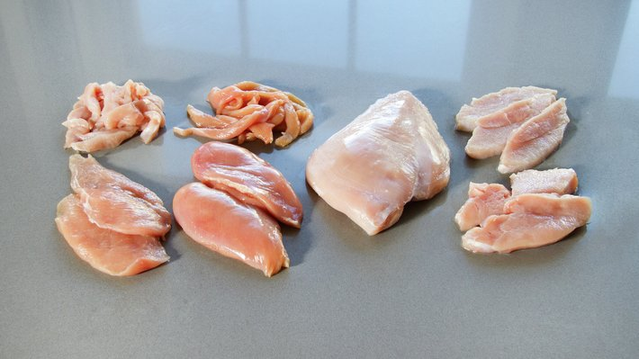 Råvarebilde kyllingfilet og kalkunfilet