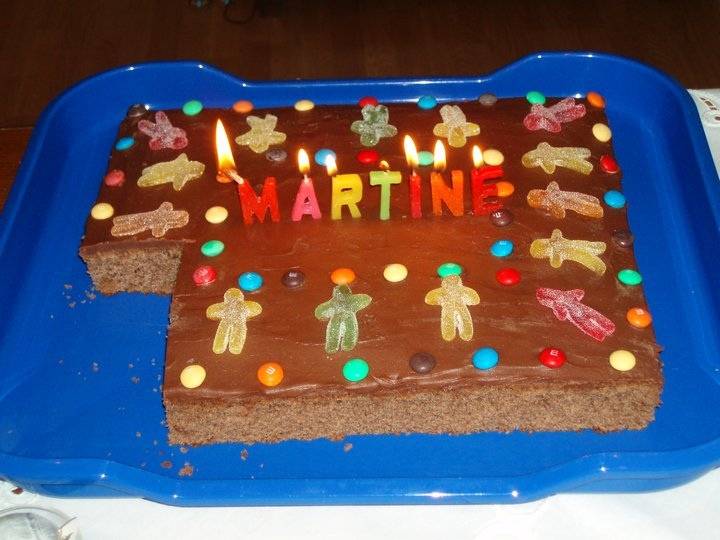 Sjokoladekake - langpanne
