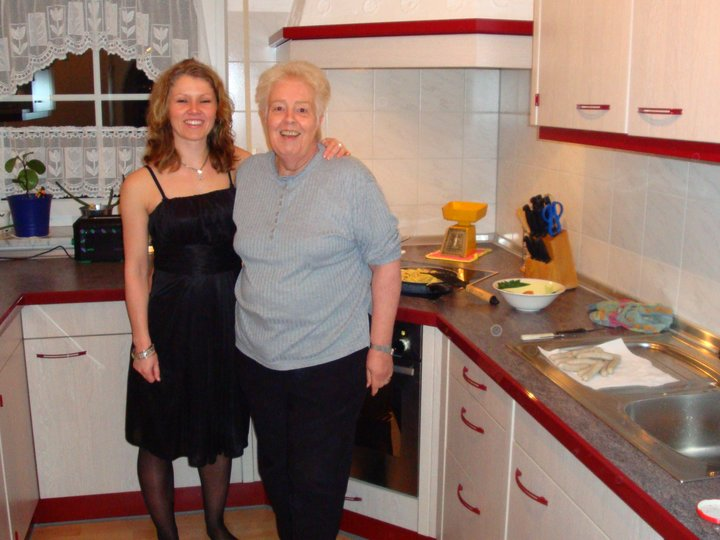 Elfriedes spaghetti og kjøttdeigrett