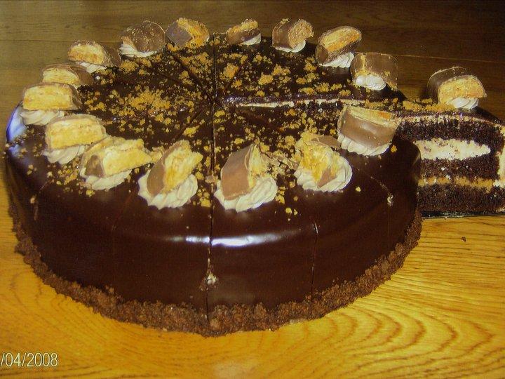 Snickers-kake