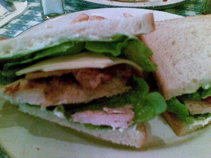 Kylling club sandwich à la Hard Rock