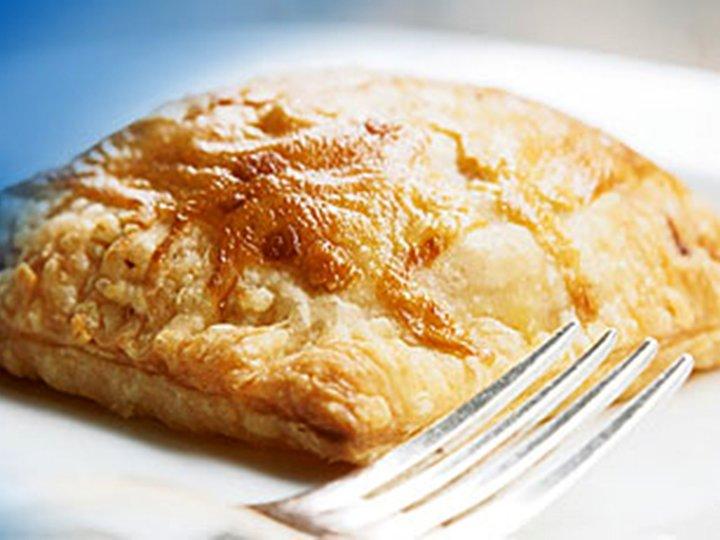 Laks i butterdeig