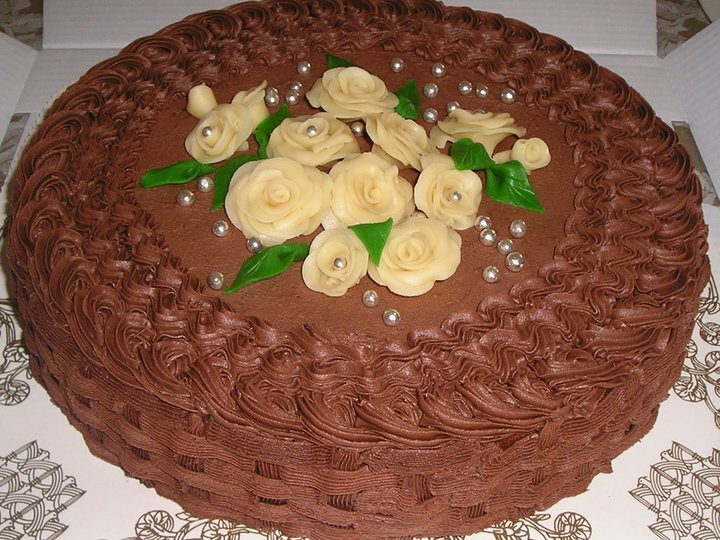 En fantastisk kaloribombe av en sjokoladekake!