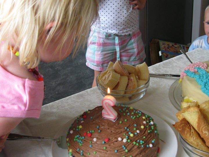 Lørdagskos - Sjokoladekake
