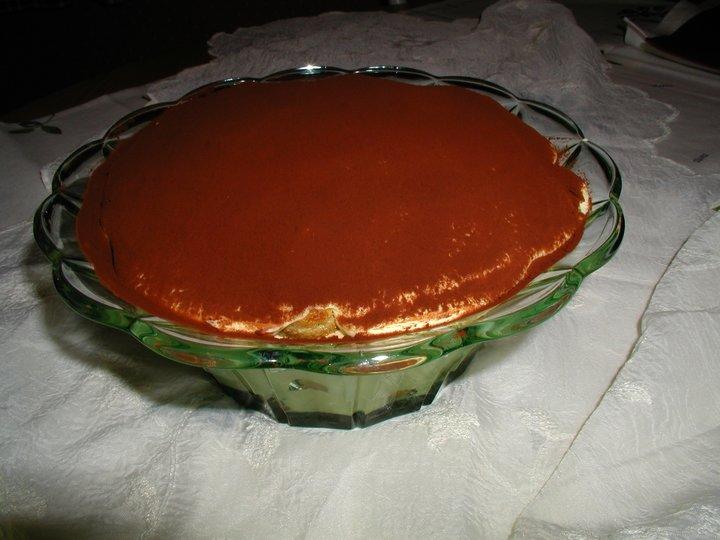 Tiramisu Italiensk ostekake