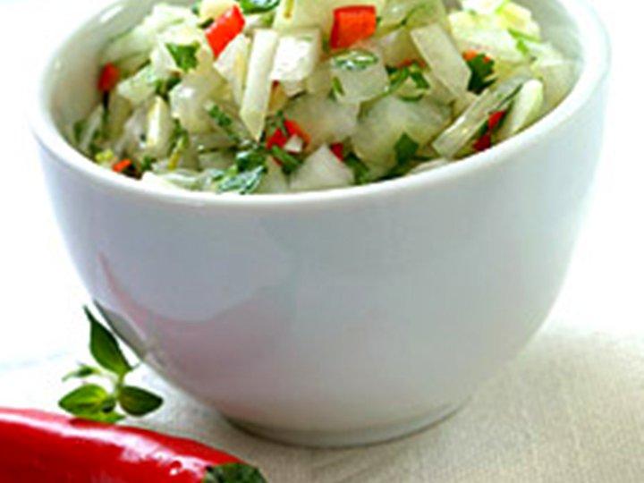 Pebre - hot salsa