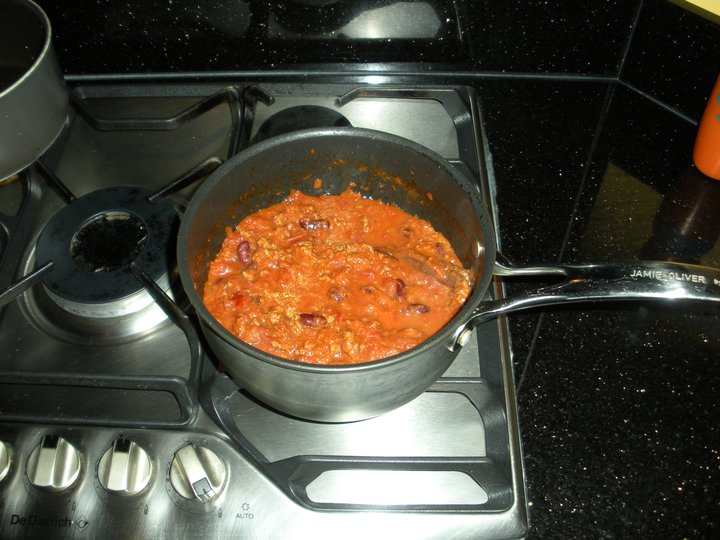 Jamies Chili con Carne