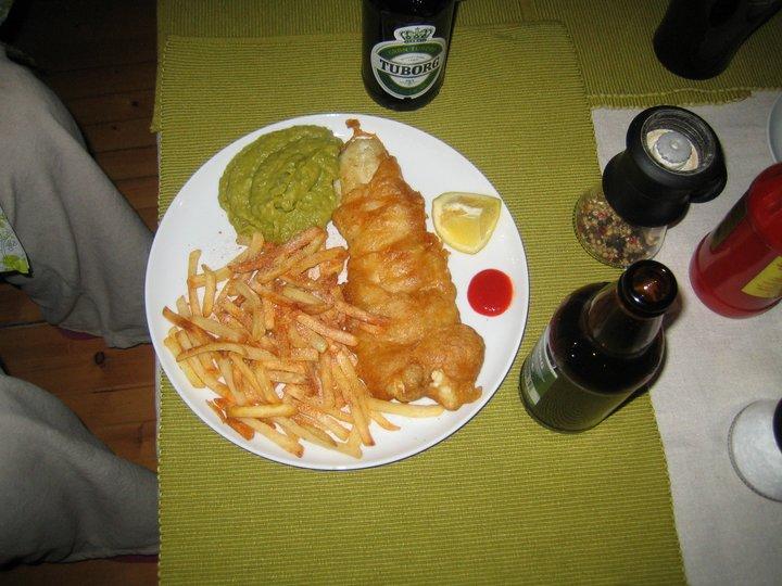 Fish&Chips ala Nils