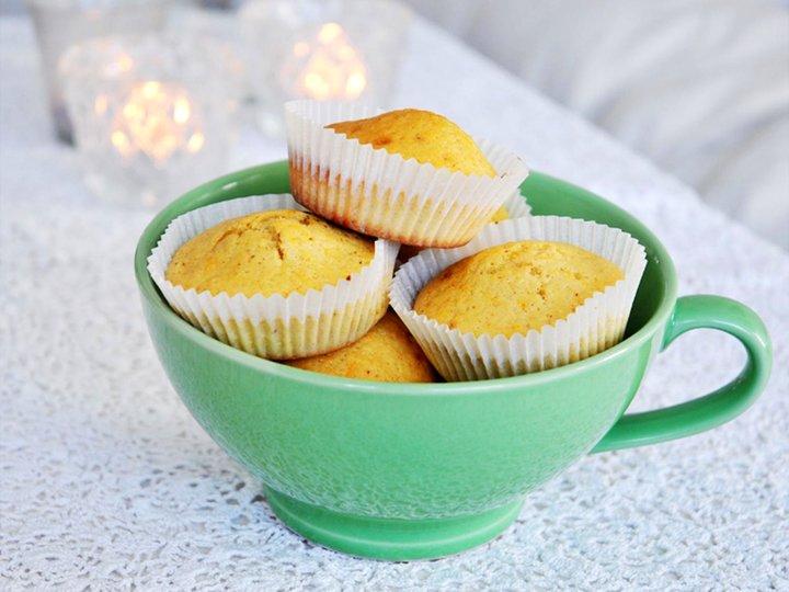Mammas muffins med sjokoladebiter