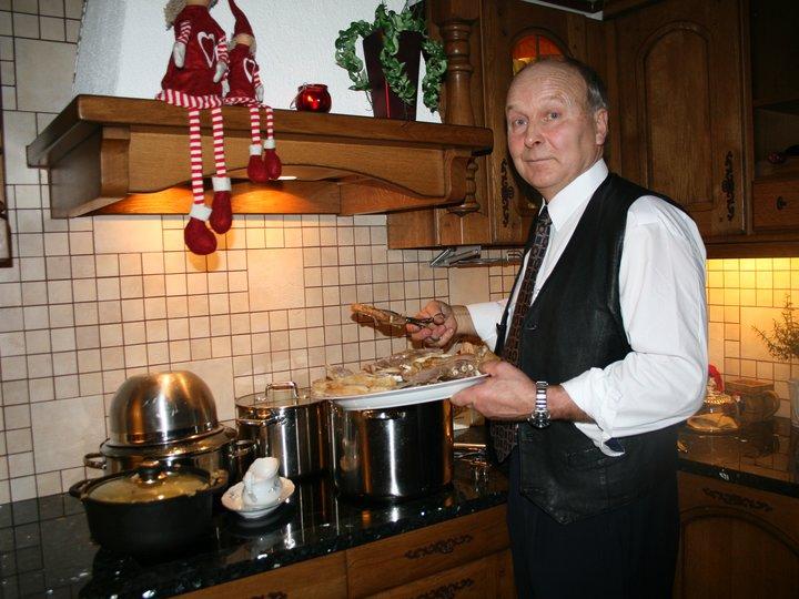Bestefar Tor sitt pinnekjøtt spesial