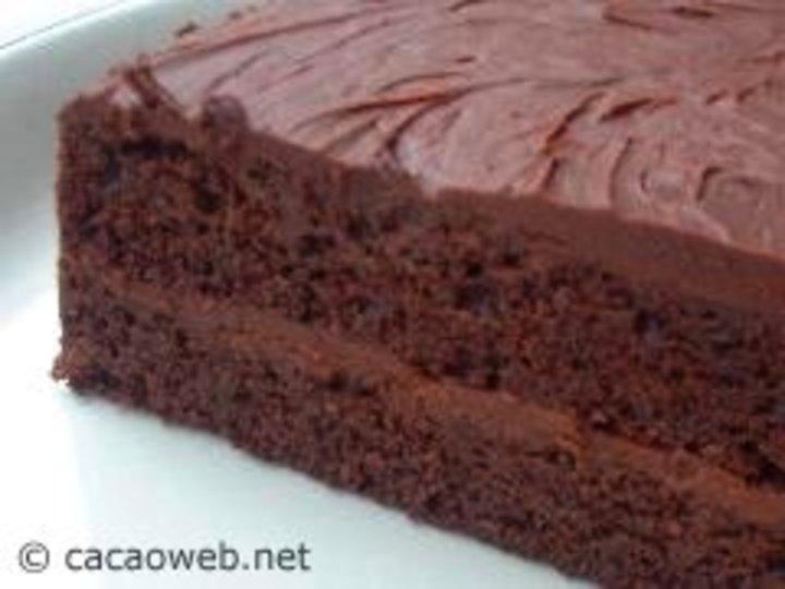 Stor sjokoladekake