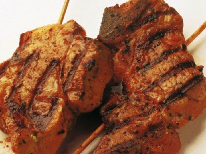 Chilipoteter, Craigs coleslaw og stekte kotel