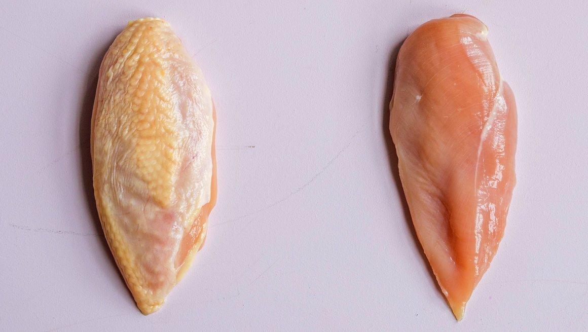 Kyllingbryst og kyllingfilet (med og uten skinn)