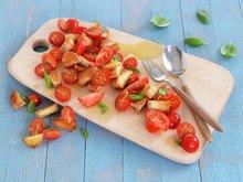 Brødsalat med tomat