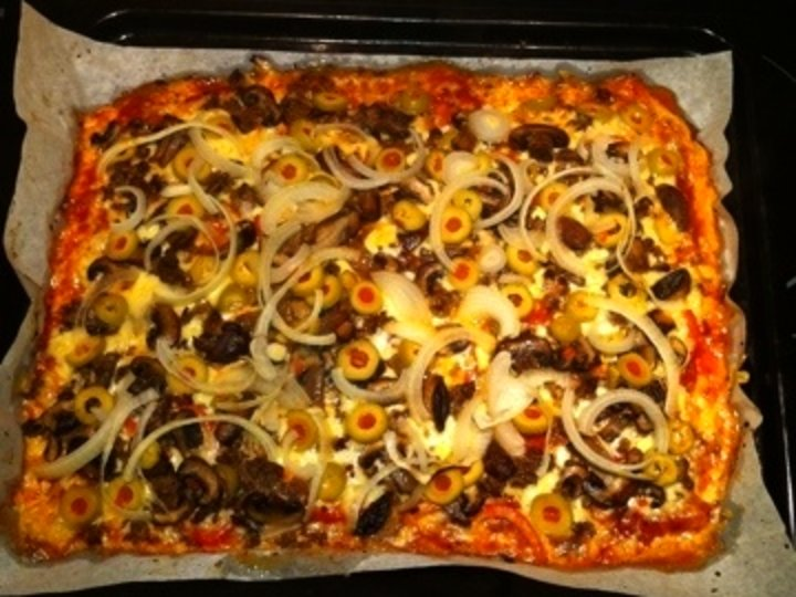 Pizzabunn lavkarbo