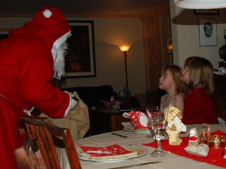 Juleand med brune kartofler /Ribbenstek.