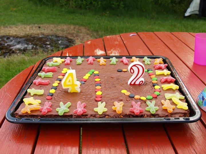 Kristines Sjokoladekake
