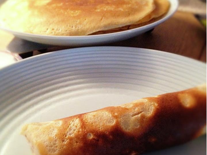 Hverdagspannekaker med crème fraîche