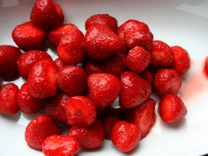 Rørte bær til frukost kvar dag
