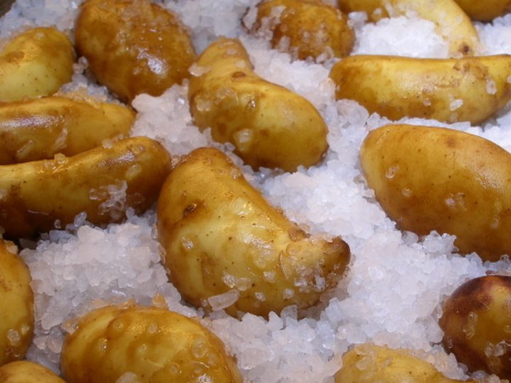 Saltbakte poteter (Amandine)