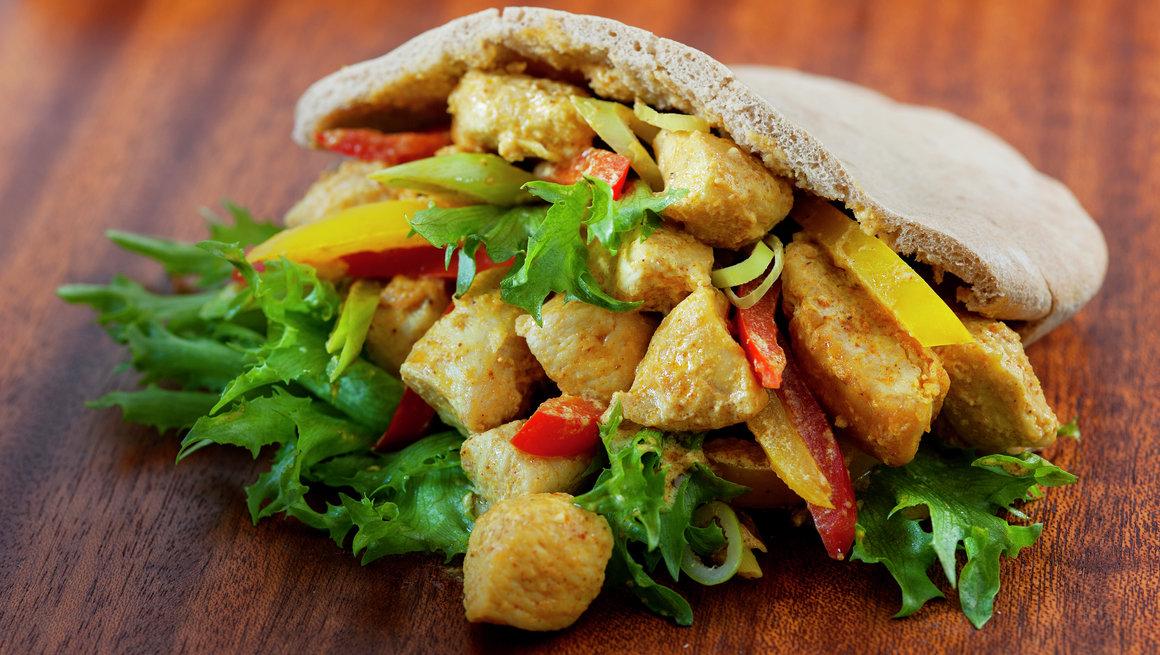 Kylling i pita 1