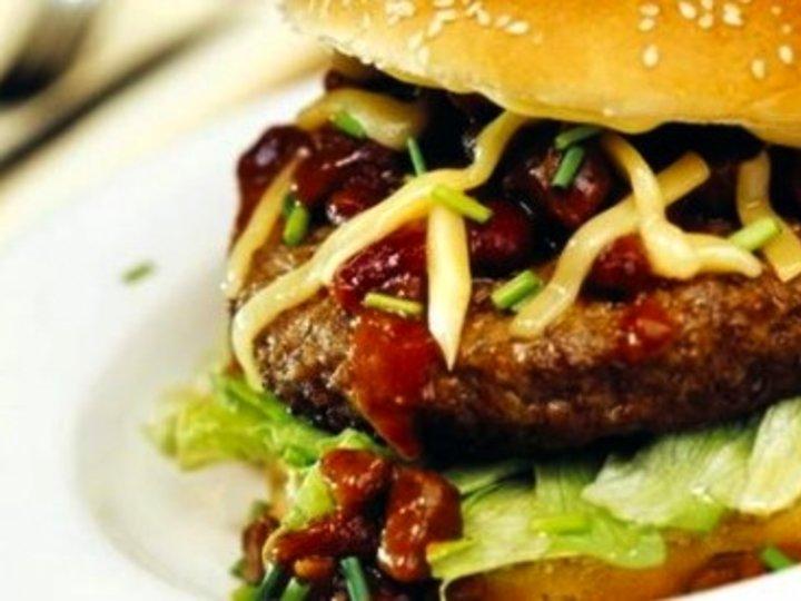Burger for trening