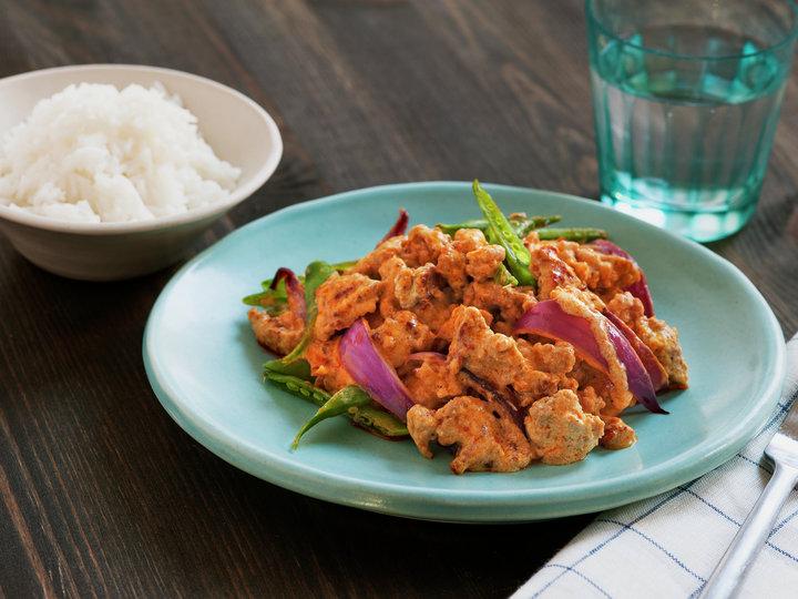 Rask thaicurry med kjøttdeig av svin 1.jpg