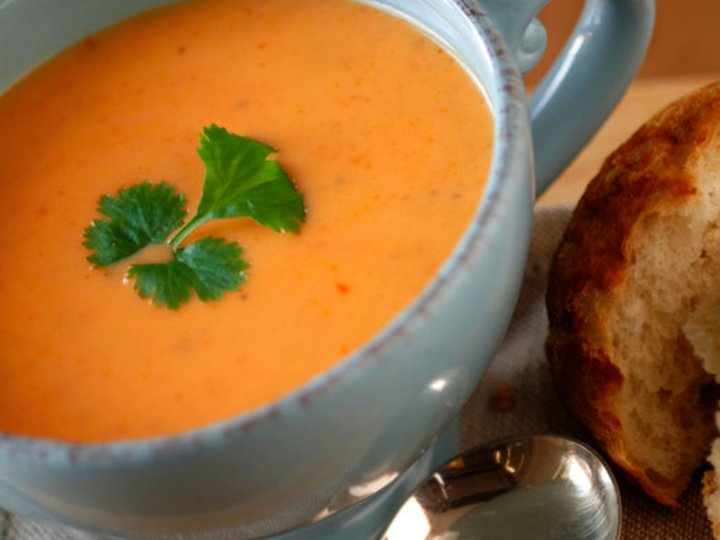 Ingefær og gulrot-suppe