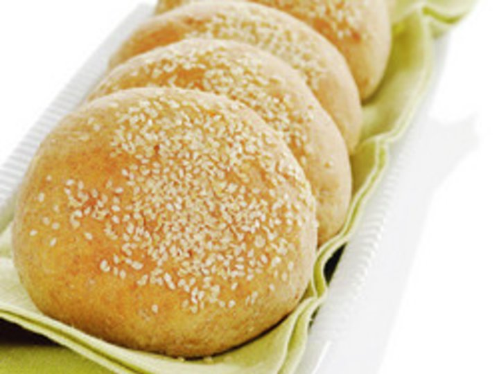 Grove Hamburgerbrød