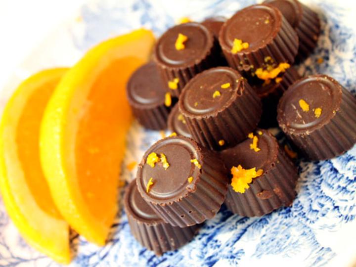 Appelsinsjokolade