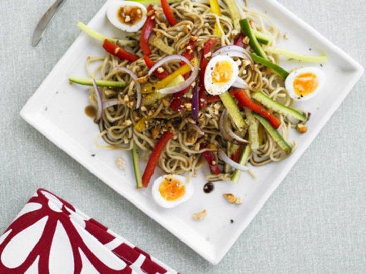 Indonesian noodle salad