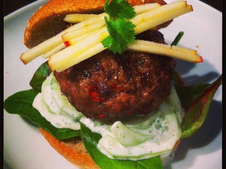 Thai mini hamburger...