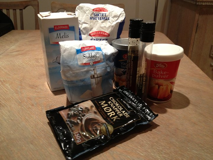 Basisvarer til baking