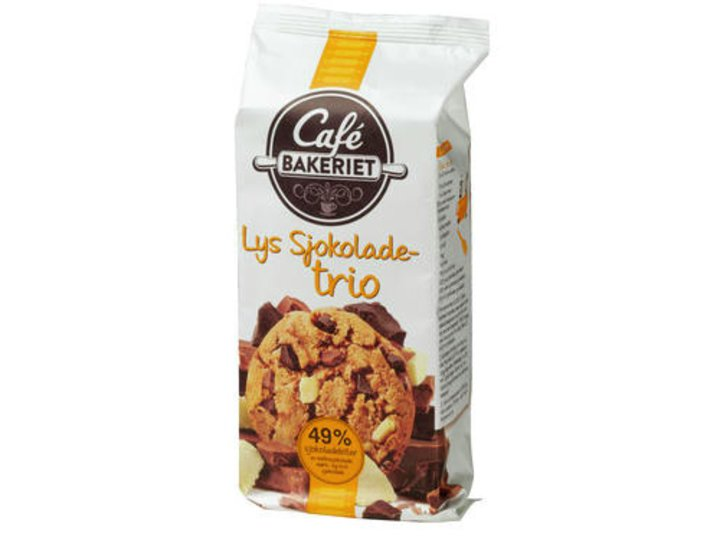 Café Bakeriet Lys Sjokoladetrio