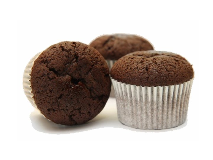 Muffins i to farger