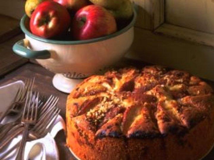 Eplekjekk og sunn eplekake