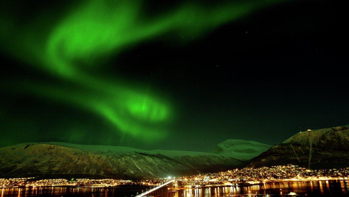 Tromsø- by (Foto: Nordnorge.com Yngve Olsen)