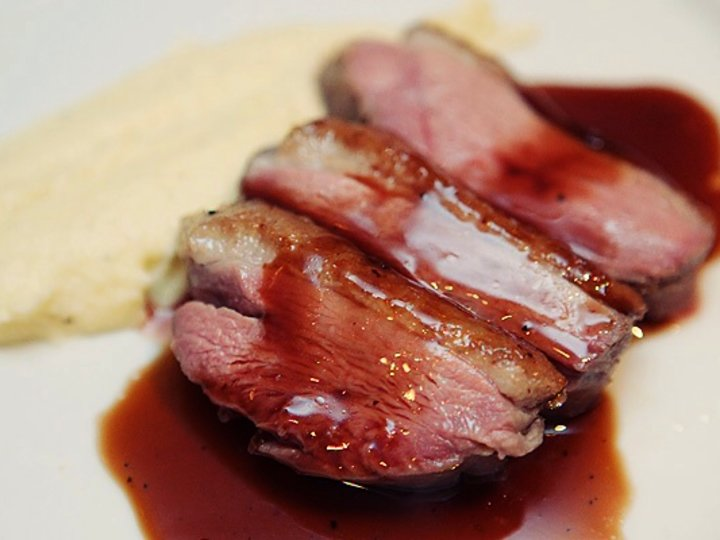 Andebryst sous vide