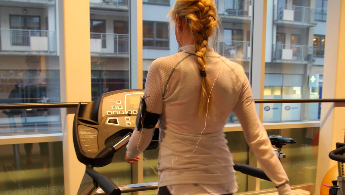 Trening på løpebånd