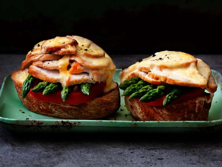 Turkey Melt-sandwich