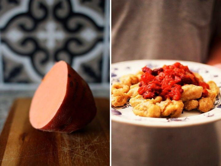 Gnocchi med tomatsaus