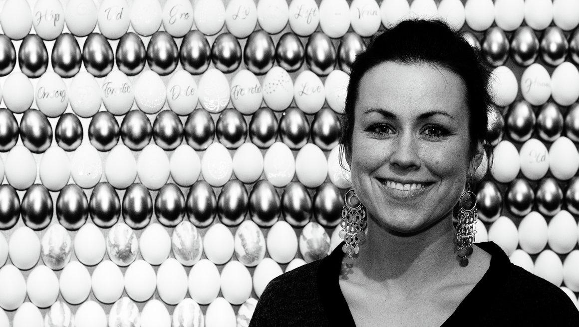 Eggkunst, Marianne Kongevold Folkemuseet