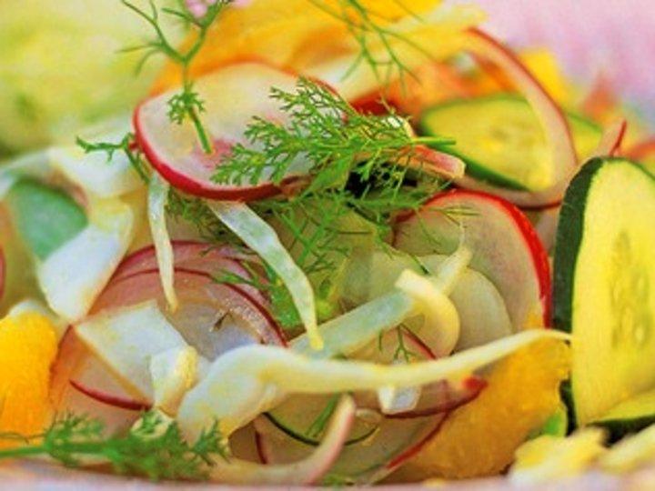 Jamies salat som i Amalfi - Insalata amalfitana