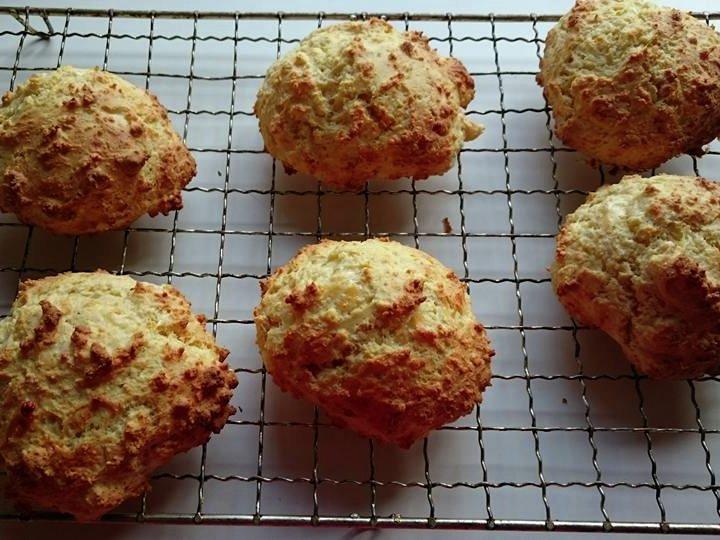 Glutenfrie scones med parmesan
