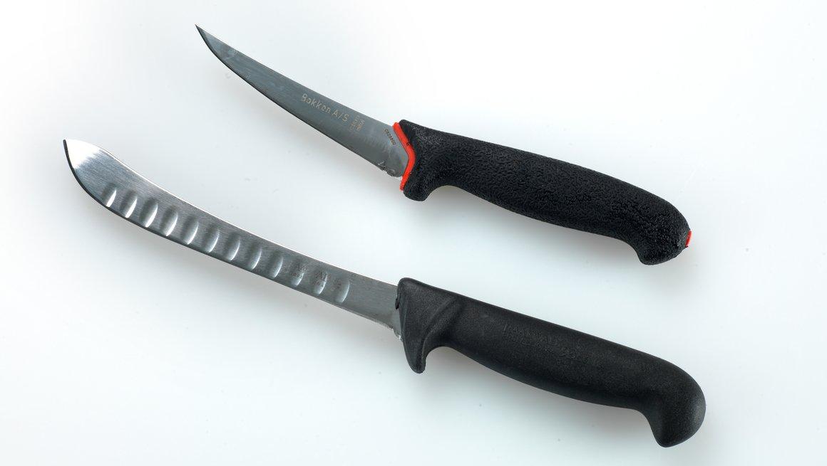 Kniver til oppdeling av kjøtt