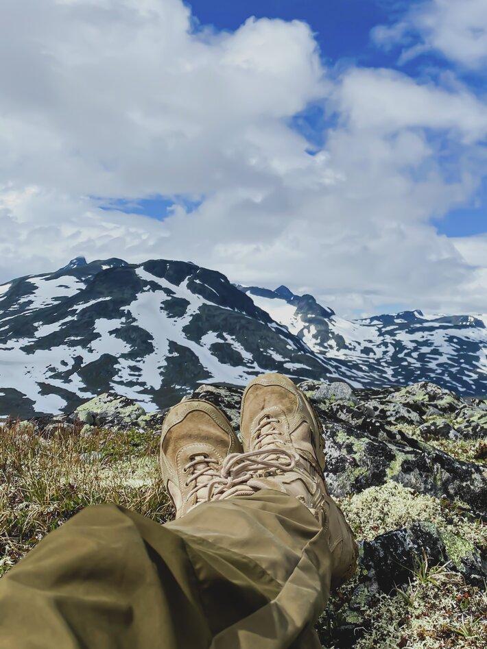 Britt Marlene Kåsin norgesfeire fjelltur